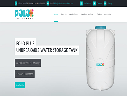Polo Plus Containers design and developed by KK Web Developer